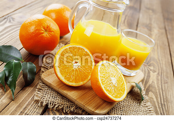 Orange juice - csp24737274