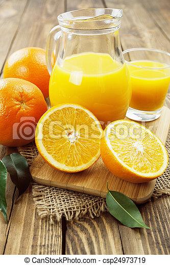 Orange juice - csp24973719