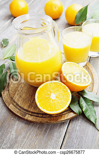 Orange juice - csp26675877
