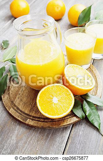 Orange juice - csp26675877