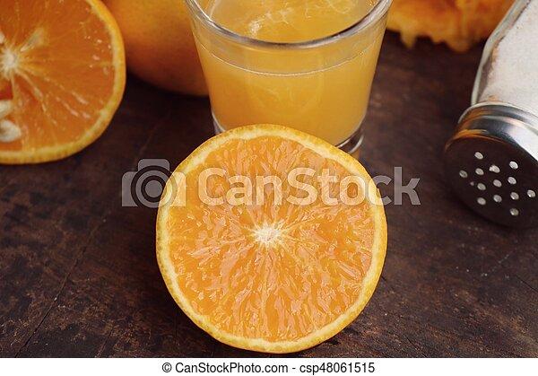 Orange juice - csp48061515