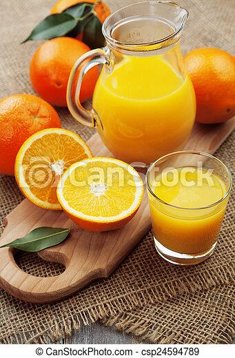 Orange juice - csp24594789