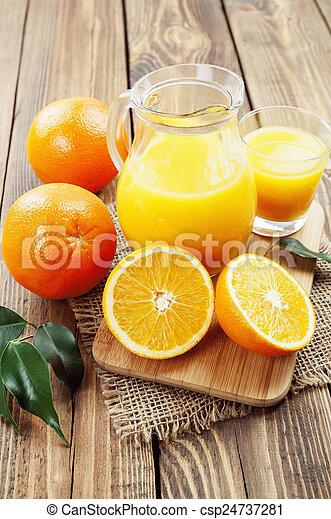 Orange juice - csp24737281