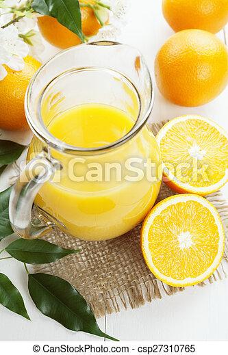 Orange juice - csp27310765