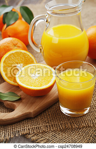 Orange juice - csp24708949
