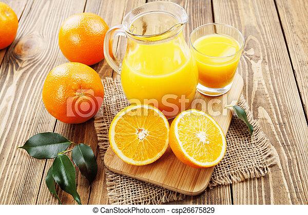 Orange juice - csp26675829
