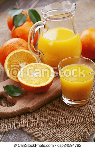 Orange juice - csp24594792
