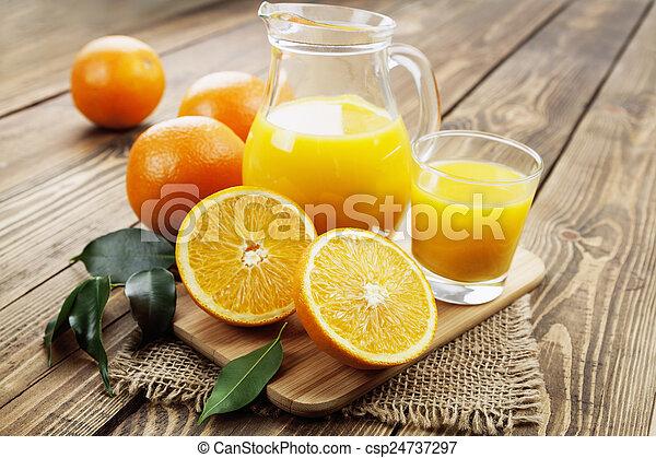 Orange juice - csp24737297