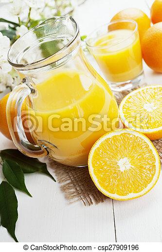 Orange juice - csp27909196