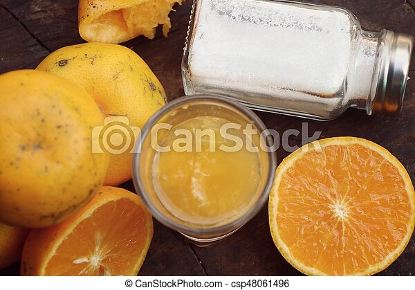 Orange juice - csp48061496