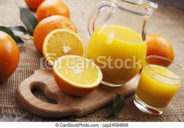 Orange juice - csp24594806