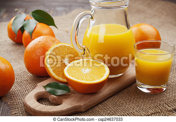 Orange juice - csp24637033
