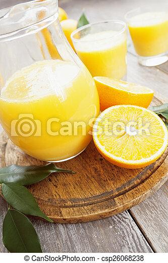Orange juice - csp26068238