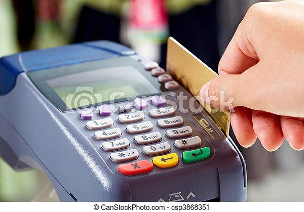 Paying - csp3868351