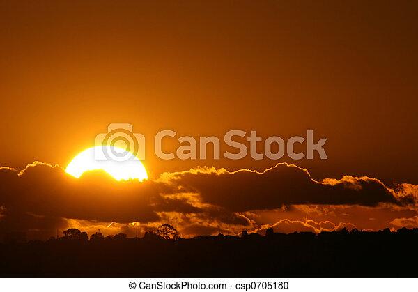 Perfect sunset - csp0705180