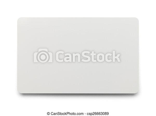 Plastic Card - csp26663089