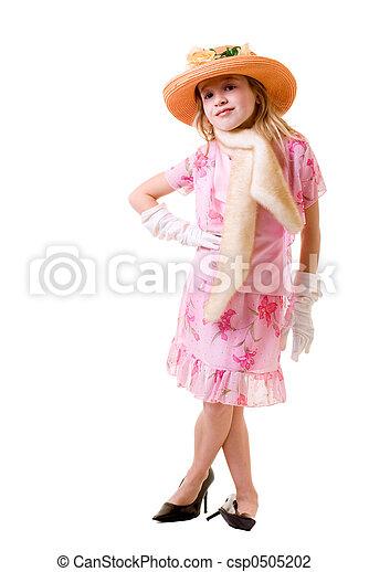 playing dress up - csp0505202