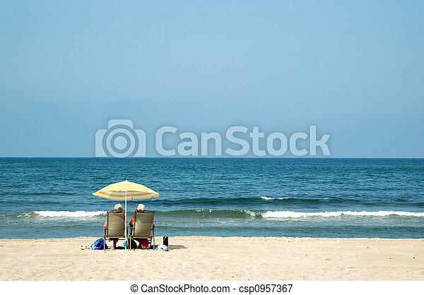 Private-beach - csp0957367