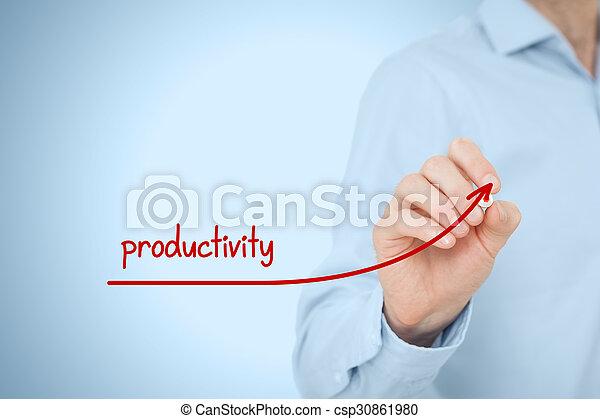 Productivity increase - csp30861980