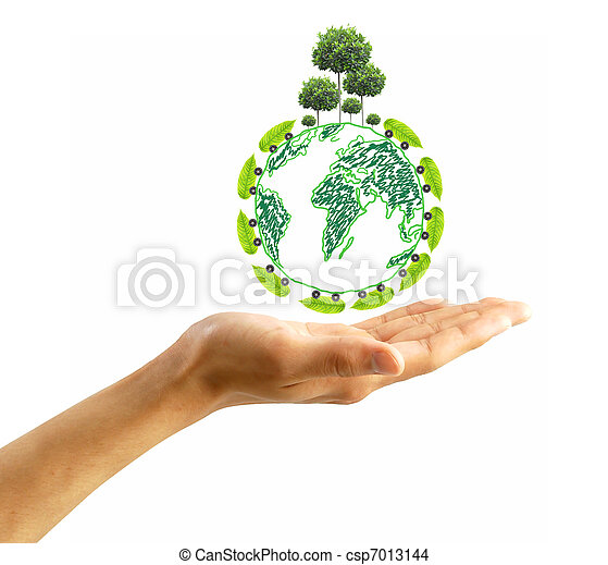 protect the environment concept - csp7013144