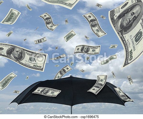 Rain of Dollars - csp1696475