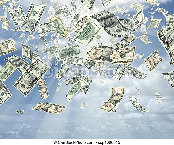 Rain of Dollars - csp1696515