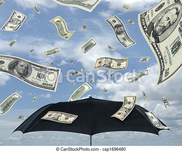 Rain of Dollars - csp1696480