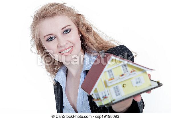 Real estate agent - csp19198093