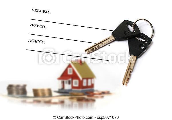 Real estate concept. - csp5071070
