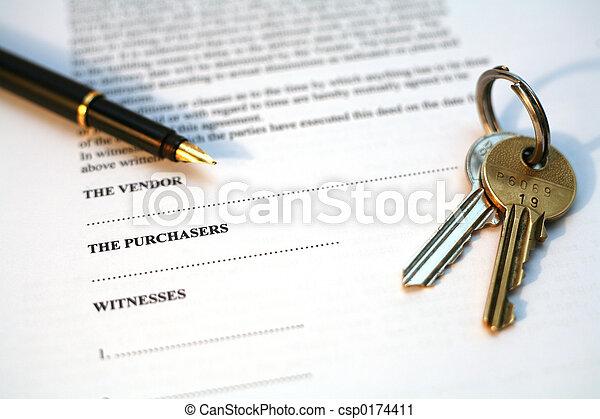 Real Estate sale - csp0174411