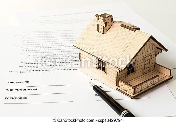 Real estate sale - csp13429794