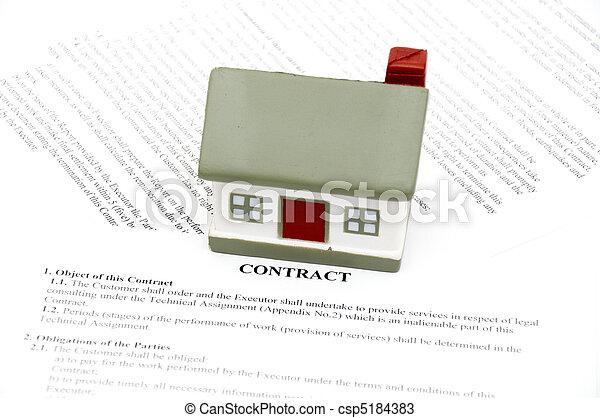 Real Estate Sale - csp5184383