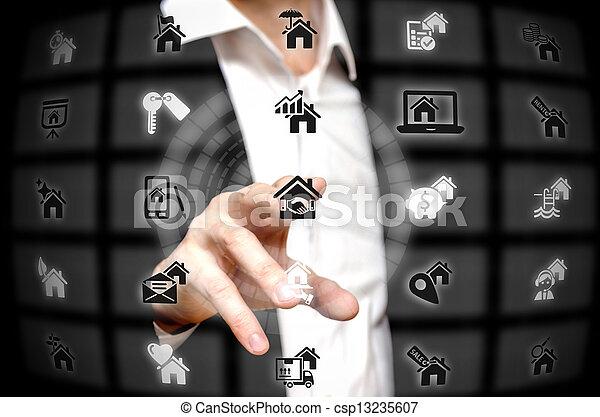 Real estate - csp13235607