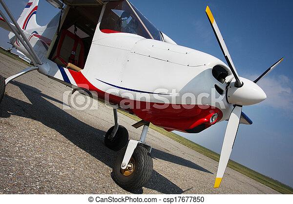 Recreation airplane - csp17677850