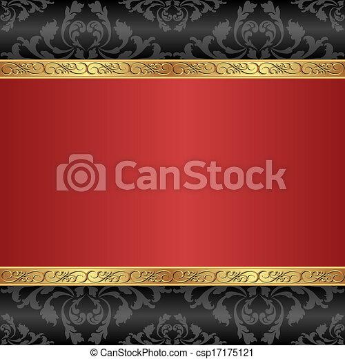red background - csp17175121