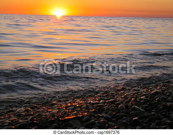 red sunset - csp1697376