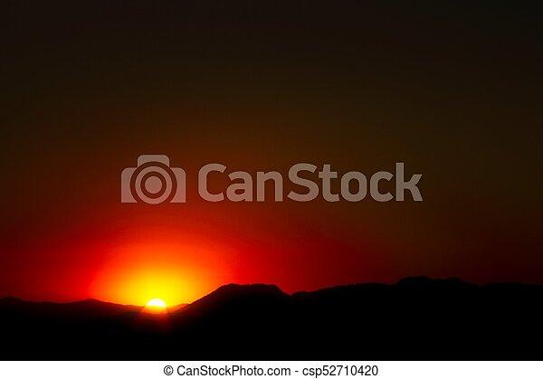 Red Sunset - csp52710420