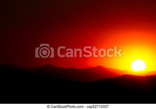 Red Sunset - csp52710337