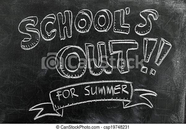 School's out - csp19748231