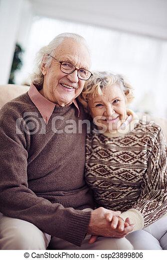 Senior man and woman - csp23899806