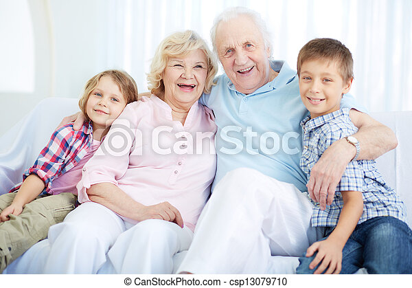 Seniors and youngsters - csp13079710
