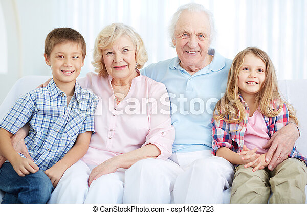 Seniors and youngsters - csp14024723