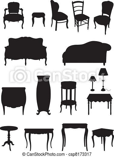 Shadows furniture - csp8173317