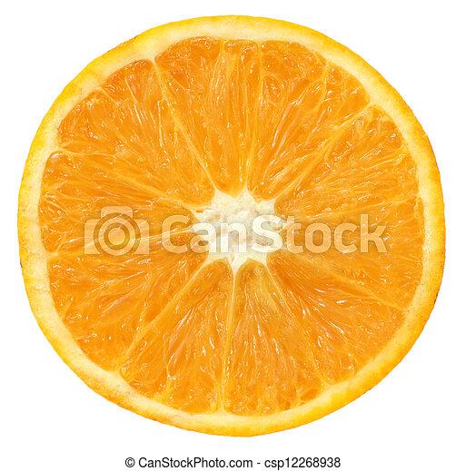 Sliced orange - csp12268938