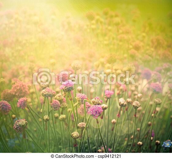 Spring floral background - csp9412121