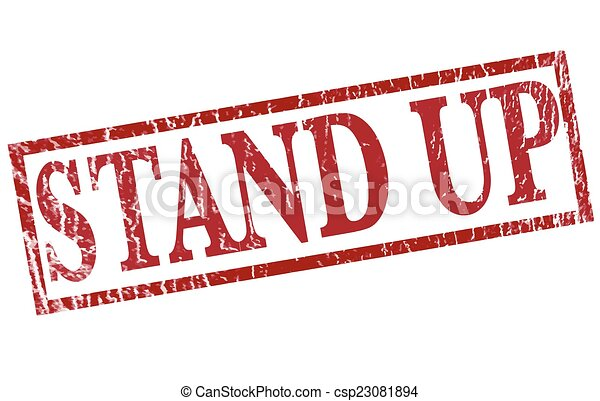 stand up - csp23081894