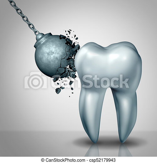Strong Tooth Enamel - csp52179943