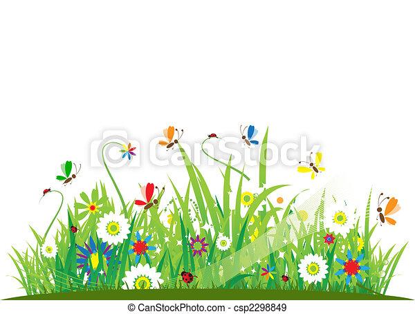 Summer meadow beautiful - csp2298849