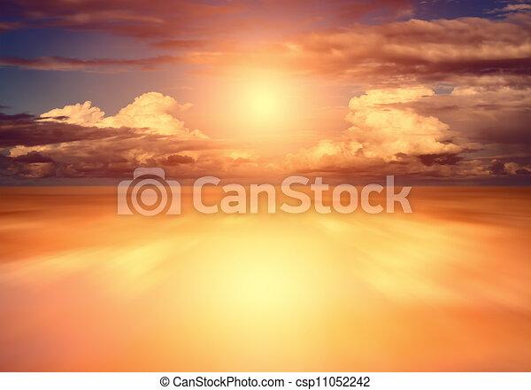 sunset - csp11052242