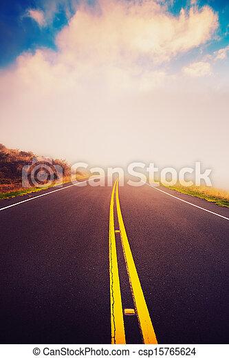 Sunset Road - csp15765624